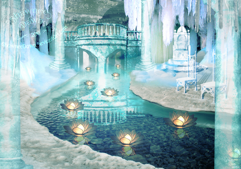 The Ice Cave by ShawneeDawn