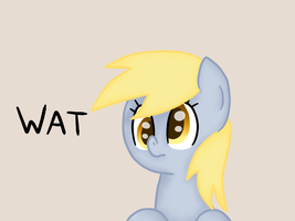 Derpy doesnt afraid of anything by PoofyPegasus
