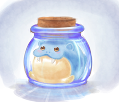 Spheal in a Jar.