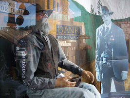 Store window display in Deadwood SD 8/23/2013 3:45 by Crigger