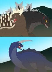 Godzilla and his Amazing Friends Episode 15 scenes by Pyrus-Leonidas