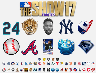 MLB The Show 17 Emotes by Th3Sixth