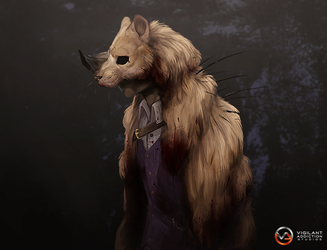 VA-Studios: Beastpelt cloak card by Remarin