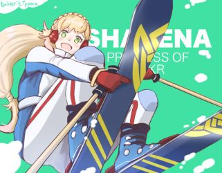 Skier Sharena by ippers-art