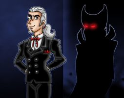 Vlad in shadow by kaitlynrager