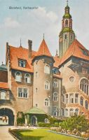 Vintage Europe - Town Hall, Bielefeld, Germany by Yesterdays-Paper