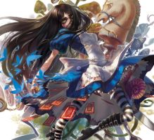 ALICE MADNESS RETURNS by aiyayo