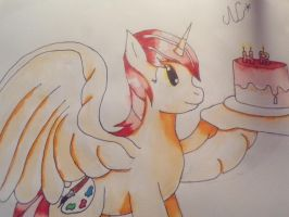 Paint Star Anniv Trad by stashine-nightfire