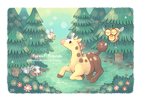 Forest Friends by Paleona