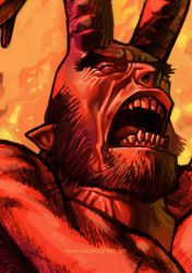 hell yell detail by cucomaluco