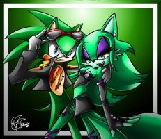 Scourge and mel by ArchiveN