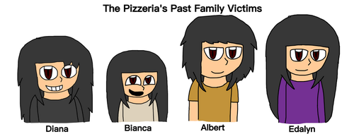Five Nights at Kuro's - The Pizzeria's Past Family by Chibipie-Kagane