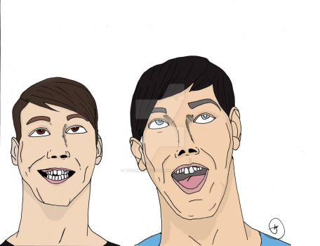 Dan And Phil by tgcomicartist