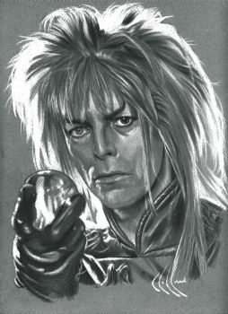 David Bowie as Jareth by choffman36
