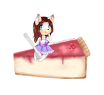 Comision tarta8 by AmySweetWolf
