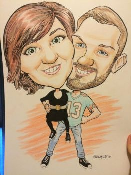 Caricature Commission 3 by Walmsley