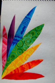 The Rainbow Weed by mikkamix