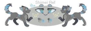 Shimei Ref by CupcakEver