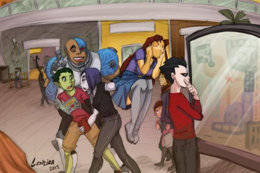 Mall Time by Ceshira