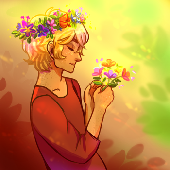 Flowers by R0BUTT