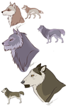 Character concept XI: Extras by HikariSilverEye