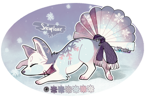 Advent Calendar day 20: Snowflake by Belliko-art