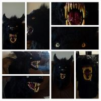 werewolf head mount by vnastudio
