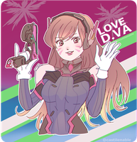Love D.va by iCassiekinz