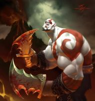 God of War by Kanyn