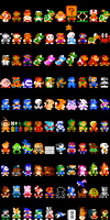 Super Mario Maker Authentic Costumes by DragonDePlatino