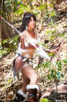Nidalee Cosplay by Rinecos