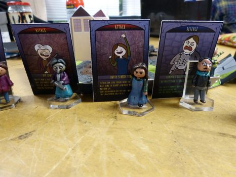 The Frighteners - Minis and cards by kickm