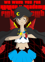 We Want YOU For Hannouji Academy Fight Club! by Flannellord