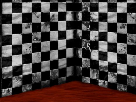Blood and Checkers by AgSerpentine-stock