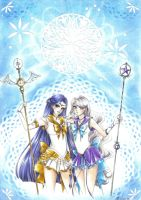 C: Sailor Fabula and Sailor Pollux by MTToto