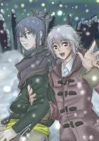 snowy day in the western district ~ by RownGil