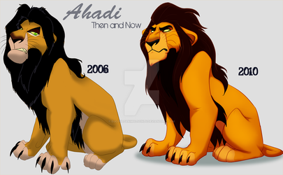 Ahadi: Then and Now by DJCoulzAnimalsOnly