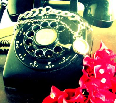 Telephone and Time by graywolf21