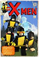 Lego Original X-Men Comic by mikenap22