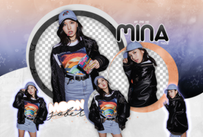 MINA//TWICE (MLB-BE MAJOR)-PNGPACK#2 by MoonSober