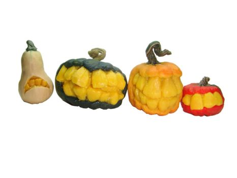 Toothy Dollhouse Pumpkins by Ethereal-Beings