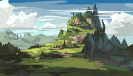 Green Mountain by jordangrimmer