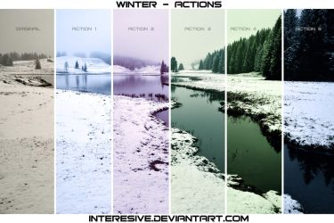 winter - Photoshop Actions by interesive