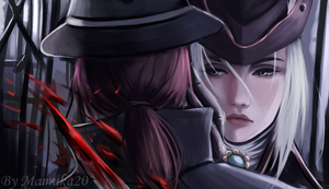 lady Maria bloodborne by Mamuka20