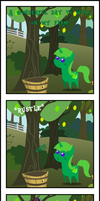 Pitchy Creature Attack! by LimeDreaming