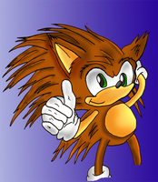 Sonic young - fleetway based by kintobor