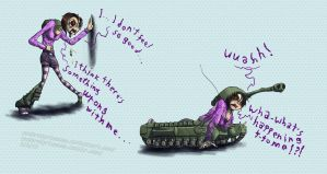 churchill tank TF doodle by PackRatPrincess