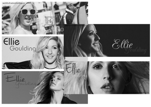 Signatures Ellie Goulding by JulieKrocova