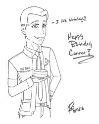 Happy Birthday Connor! -Ink- by R3iD3adAim