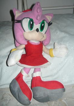 Our Amy Rose Plush Toy by KambalPinoy